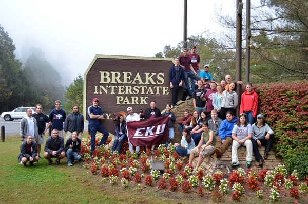 EKU Students at Breaks Interstate Park