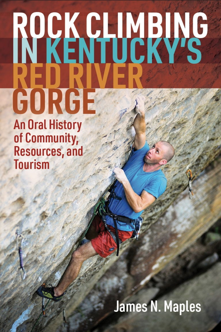 cover of book Rock Climbing in Kentucky's Red River Gorge
