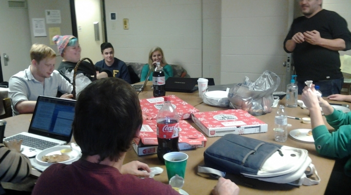 sociology has pizza parties